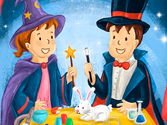 The Exploring Twins – The Magic Show